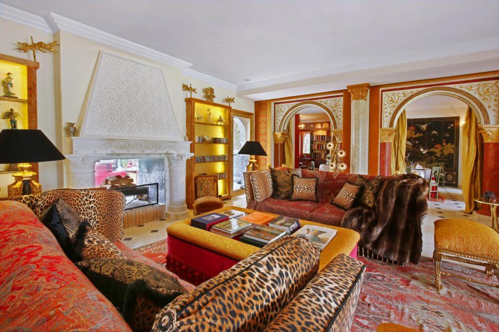 Living room Villa Marrakech