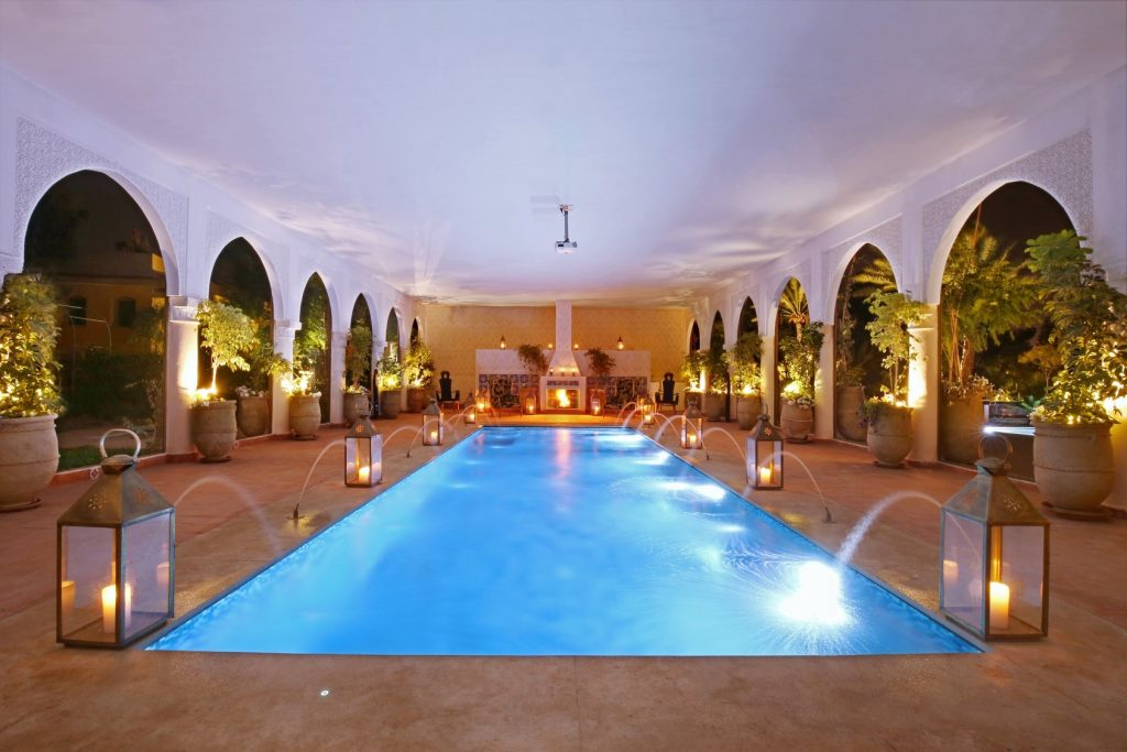 2 heated pools